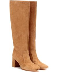 Maryam Nassir Zadeh - Lune Suede Boots - Lyst