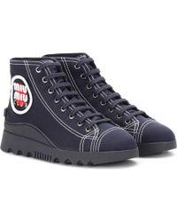 Miu Miu - Sneakers aus Canvas - Lyst