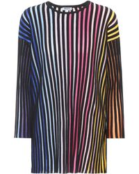 KENZO - Striped Cotton-blend Top - Lyst