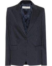 Golden Goose Deluxe Brand - Blazer en laine et soie mélangées Venice - Lyst