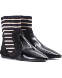 Acne Studios - Amalee Suede Ankle Boots - Lyst