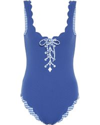 Marysia Swim - Palm Springs Reversible Swimsuit - Lyst
