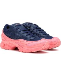 900a9de5d adidas By Raf Simons Bounce Trainers in Pink - Lyst