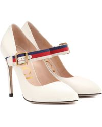 Gucci - Sylvie Leather Pumps - Lyst