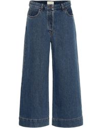 The Row Edna Wide-leg Jeans