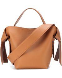 Acne Studios - Musubi Mini Leather Shoulder Bag - Lyst