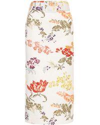 Rosie Assoulin - Pencil Skirt With Belt - Lyst