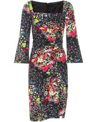 Etro - Floral-printed Jersey Dress - Lyst