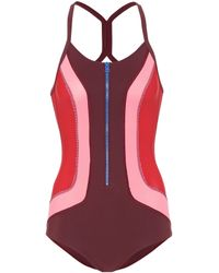 Isabel Marant - Toan Zipped Swimsuit - Lyst