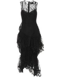 Simone Rocha - Floral Lace Dress - Lyst