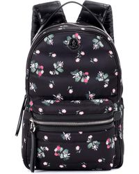 Moncler - New Georgette Printed Backpack - Lyst
