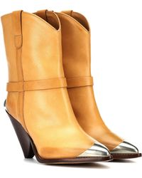 Isabel Marant - Lamsy Leather Boots - Lyst