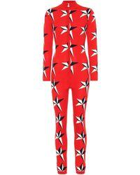 Perfect Moment - Star Ii Intarsia Merino Wool Jumpsuit - Lyst