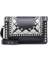 Isabel Marant - Maskia Embellished Leather Shoulder Bag - Lyst