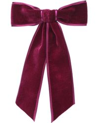 Jennifer Behr - Velvet Hair Bow - Lyst