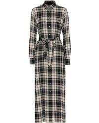 Polo Ralph Lauren - Checked Shirt Dress - Lyst