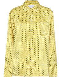 Beautiful Bottoms - Printed Silk Pyjama Shirt - Lyst