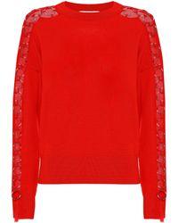 Jonathan Simkhai - Embellished Wool Sweater - Lyst