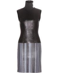 Edun - Leather Dress - Lyst