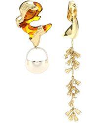 Ellery - Leonard Collage Earrings - Lyst