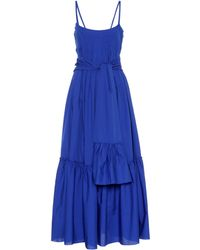 Three Graces London - Ariadne Cotton Maxi Dress - Lyst