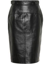 Acne Studios - Leather Skirt - Lyst