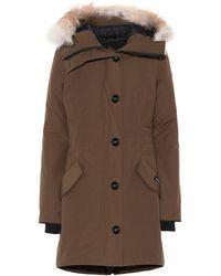 Canada Goose - Rossclair Fur-trimmed Parka - Lyst