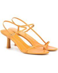 The Row - Sandales Bare en cuir - Lyst