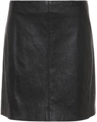 JOSEPH - Leather Miniskirt - Lyst