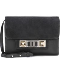 Proenza Schouler - Ps11 Leather And Suede Shoulder Bag - Lyst