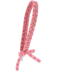 Fendi - Lace-up Leather Bag Strap - Lyst