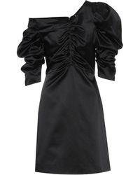 Isa Arfen - Cotton-blend Satin Dress - Lyst