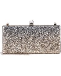 Jimmy Choo - Exclusive To Mytheresa. Com – Celeste Glitter Clutch - Lyst