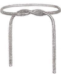 CALVIN KLEIN 205W39NYC - Crystal-embellished Belt - Lyst