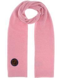 3876098de01 Fendi - Écharpe en laine et cachemire - Lyst