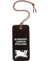 Burberry - Logo Canvas Card Holder - Lyst