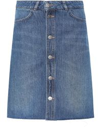 M.i.h Jeans - Denim Skirt - Lyst