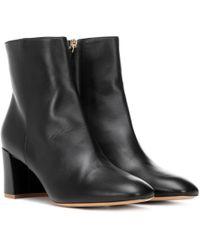 Mansur Gavriel - Leather Ankle Boots - Lyst