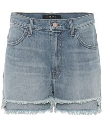 J Brand - Joan High-waisted Denim Shorts - Lyst
