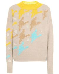 Delpozo - Pullover in lana e cashmere - Lyst