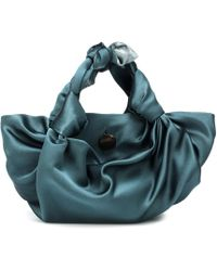The Row - The Ascot Satin Clutch - Lyst