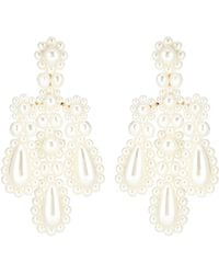 Simone Rocha - Faux Pearl Earrings - Lyst