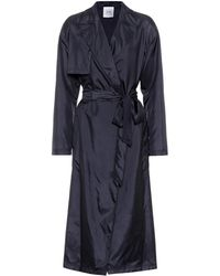 Agnona - Silk Trench Coat - Lyst