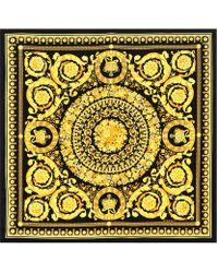 Versace - Baroque Ss92 Printed Silk Scarf - Lyst