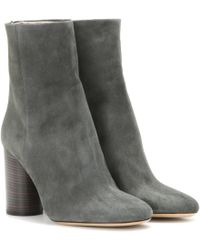 Isabel Marant - Garett Suede Ankle Boots - Lyst