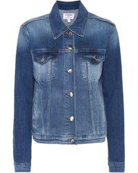 FRAME - Veste en jean Le Vintage - Lyst