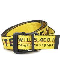 Off-White c/o Virgil Abloh - Cintura Industrial Mini in tessuto tecnico - Lyst