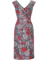 Erdem - Jyoti Floral Cloqué Dress - Lyst
