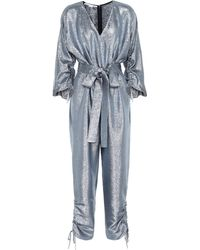 Stella McCartney - Metallic Jumpsuit - Lyst
