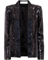 Victoria, Victoria Beckham - Sequinned Jacket - Lyst